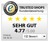 Trusted Shops customer ratings
